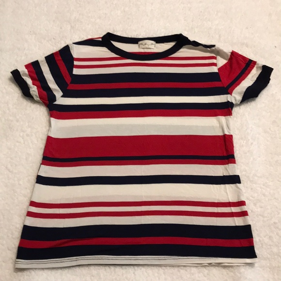 8e2afbd20b gaze Tops | Red White And Blue Striped Shirt | Poshmark
